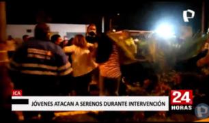 Ica: agreden a autoridades en intervención a 'fiesta COVID'