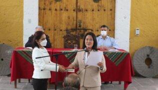 """Keiko Fujimori reconoce sus errores: """"Pido perdón a todos los que se hayan sentido afectados"""""""