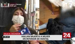 Mujer es hallada muerta en hostal de VES: familiares revelaron que era víctima de agresiones