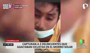 Caen delincuentes que asaltaban a ciclistas en el Morro Solar