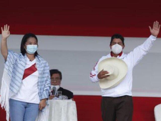 """Segunda vuelta: Pedro Castillo y Keiko Fujimori """"no hacen esfuerzos por convencernos"""", dice Vizcarra"""