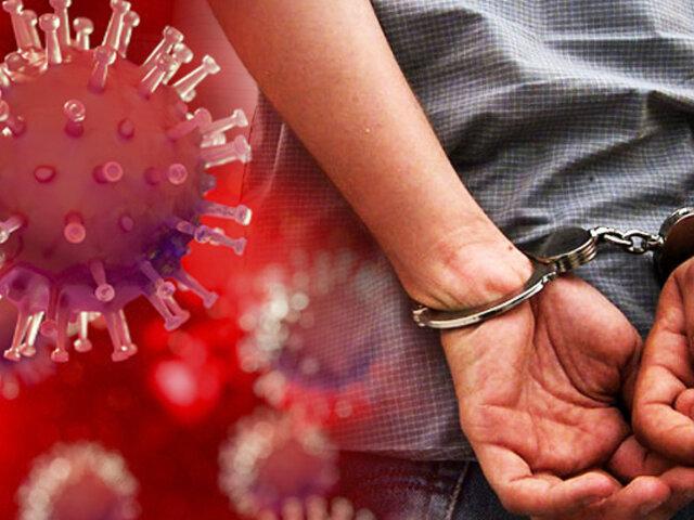 Fiestas COVID: Detenciones en tiempos de la segunda ola