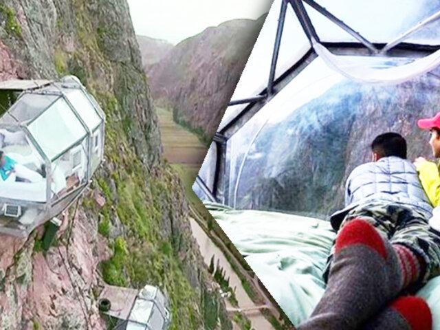EXCLUSIVO | Desde el Cusco: Conozca el hotel más extremo del mundo