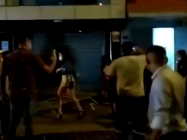 Fiesta Covid en discoteca de Los Olivos: atacan a agentes del serenazgo para no ser intervenidos