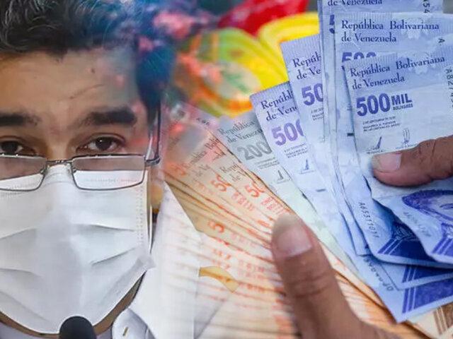 Gobierno de Venezuela aumenta el salario mínimo casi un 300%