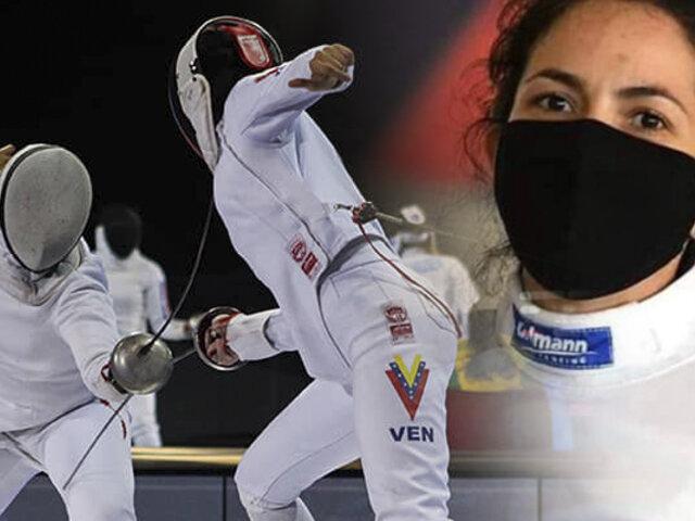 Esgrima peruano: María Luisa Doig clasificó a los Juegos Olímpicos de Tokio