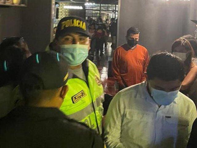 Covid-19: intervienen a más de 30 personas en una fiesta clandestina en Trujillo