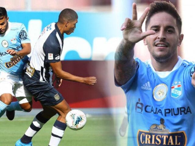 Sporting Cristal vence 2-1 a Alianza en el Estadio Nacional