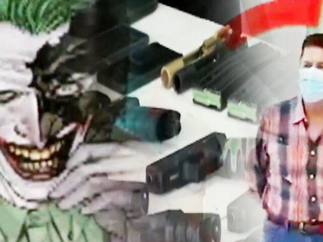 Los traficantes del Joker: incautan fusiles, municiones y droga a mafia boliviana