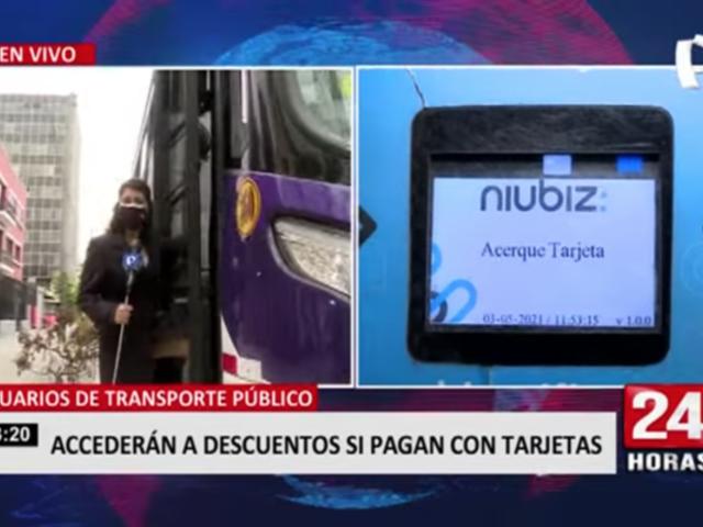 Transporte público: usuarios accederán a descuentos si pagan con tarjetas