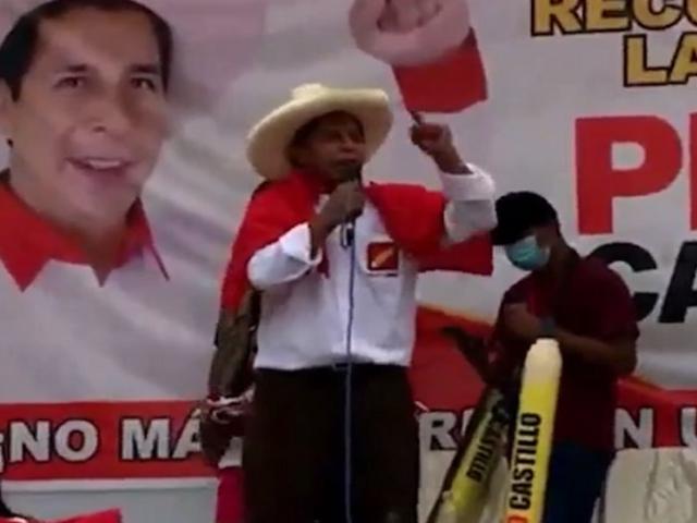 Pedro Castillo le pide a Keiko Fujimori que sus congresistas electos se bajen el sueldo a la mitad