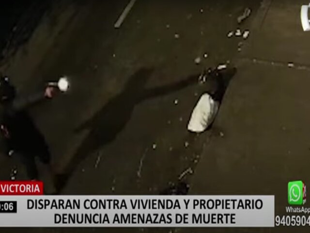 Empresario denuncia que sujeto ingresó a su vivienda e intentó asesinarlo a disparos