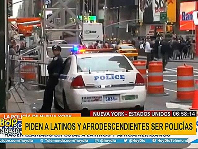 EEUU: solicitan a latinos y afrodescendientes unirse a la Policía de Nueva York