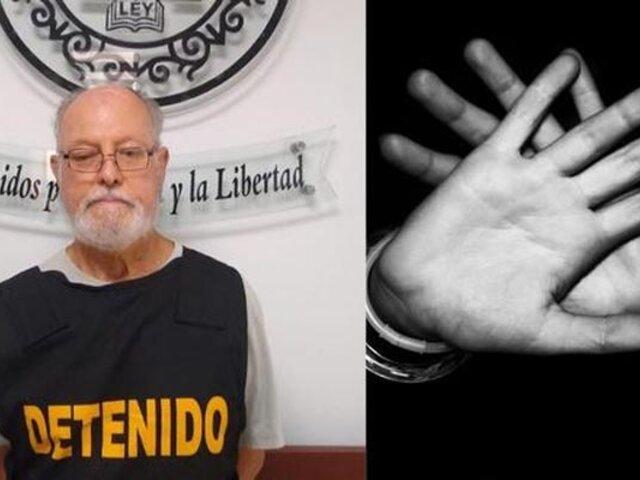 SJL: capturan a anciano de 75 años acusado de abusar de sus nietas de 4 y 5 años