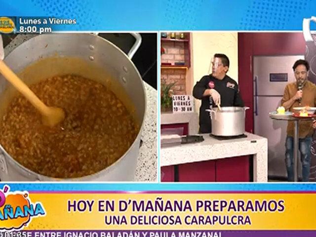 D'Mañana: chef prepara novedosa e irresistible Carapulcra de chancho