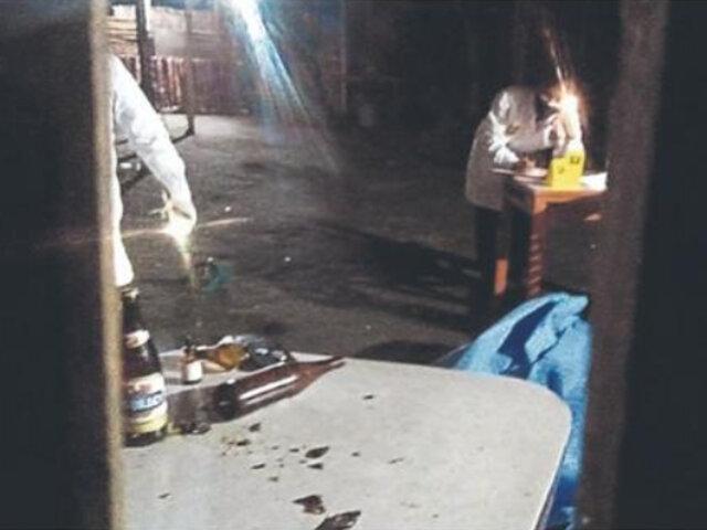 Chimbote: 4 muertos y un herido tras balacera por presunto ajuste de cuentas