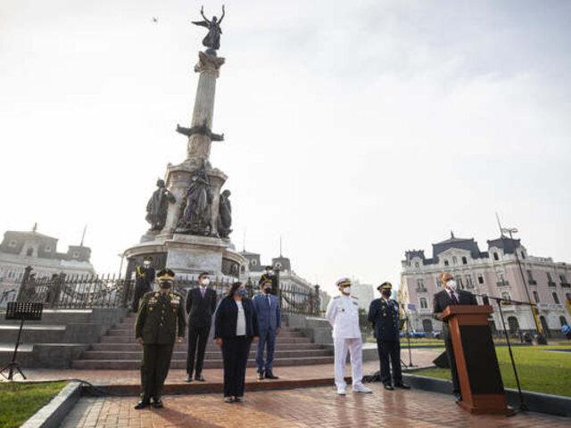 Casi un año tardó recuperación del monumento que conmemora al Combate del Dos de Mayo