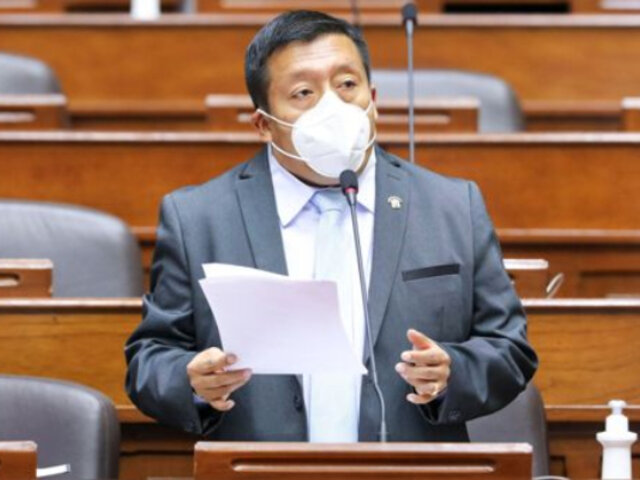Carlos Pérez Ochoa: congresista de Acción Popular informó que dio positivo al covid-19