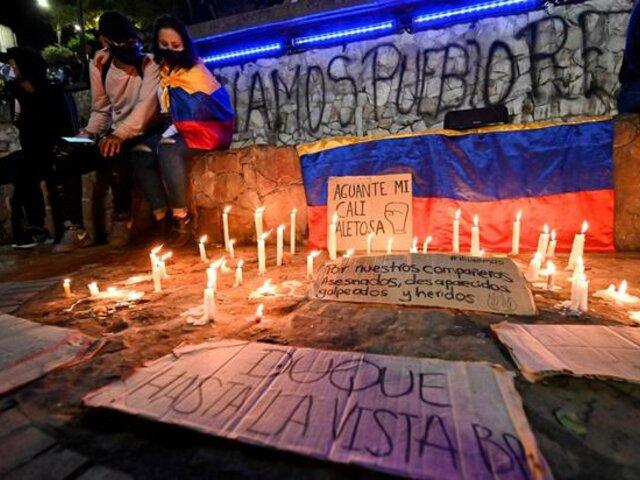 Colombia: convocan nuevas marchas este miércoles en medio de ola de violencia