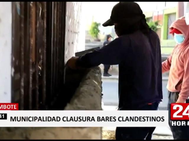 Chimbote: clausuran bares clandestinos tras balacera y asesinato