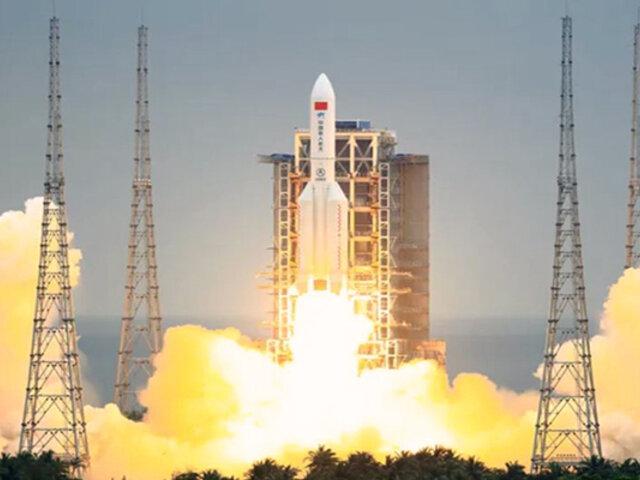 EEUU: rastrean cohete chino fuera de control que retornará a la Tierra el fin de semana