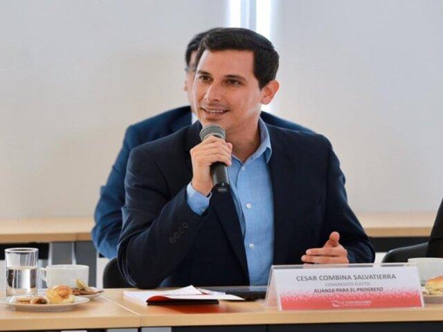 Familia de Vladimir Cerrón interpuso querella contra congresista Combina por presunta difamación