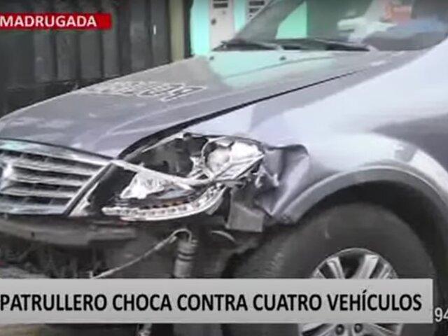 Dueño de auto señaló que no le quisieron aceptar denuncia tras múltiple choque en Surco