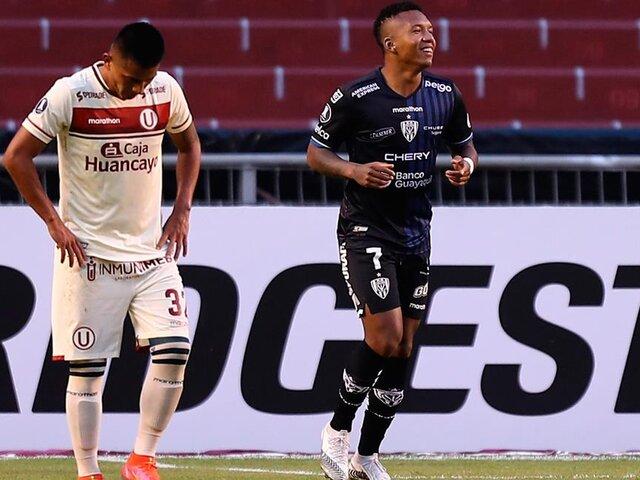 Copa Libertadores: Universitario cayó aplastado 4-0 ante Independiente del Valle  [VÍDEO]