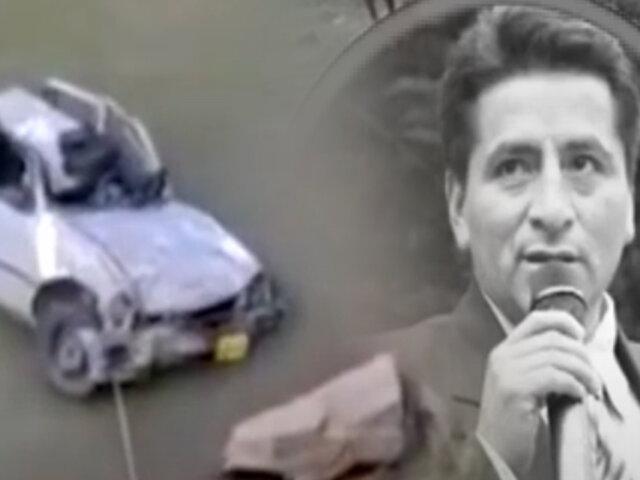 Huánuco: Funcionario municipal pierde la vida al caer su auto a un río