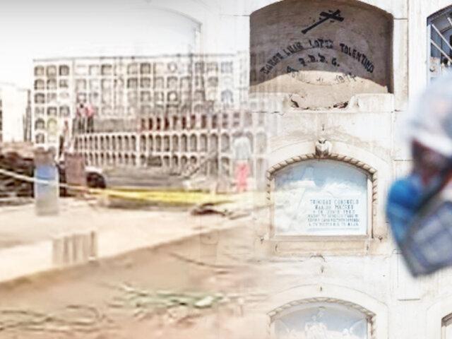 """Cementerio """"El Ángel"""" se queda sin nichos por la pandemia"""