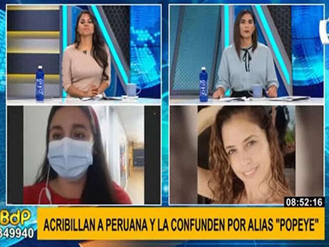 """Sicarios acribillan a paciente peruana por error: buscaban a presunto narco alias """"Popeye"""""""