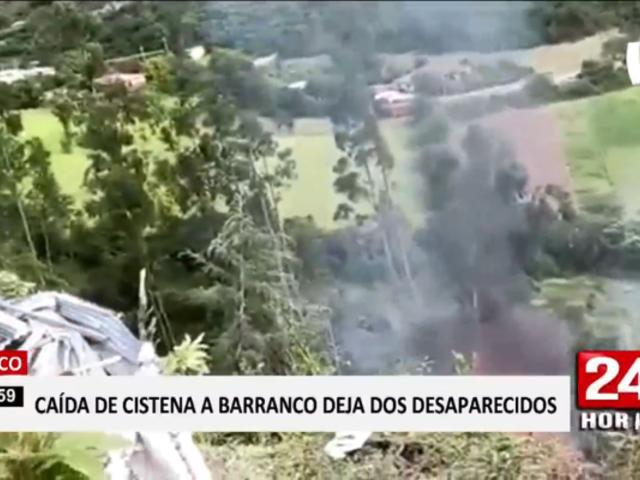 Cusco: un herido y dos desaparecidos tras volcadura y explosión de cisterna