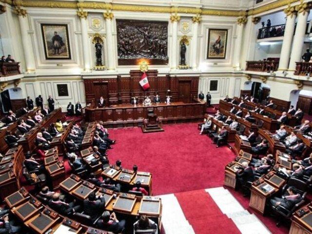 """Óscar Urviola: """"Cuarta legislatura no sería inconstitucional, pero sí inoportuna"""""""
