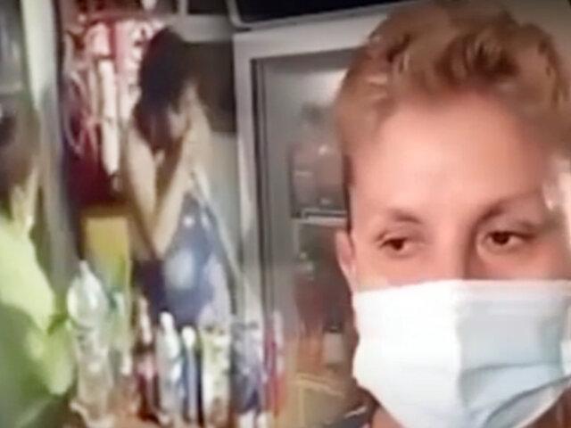 Tarapoto: Recepcionista de hospedaje defiende a mujer de ser ultrajada por sujeto