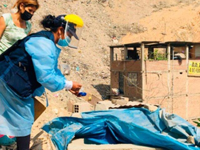 Lima Sur: intervienen  más de 5,000 casas para identificar posibles focos de dengue