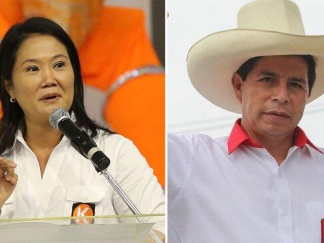 Empate Técnico: Pedro Castillo obtiene 51,1% y Keiko Fujimori alcanza 48,9%, según simulacro de Ipsos