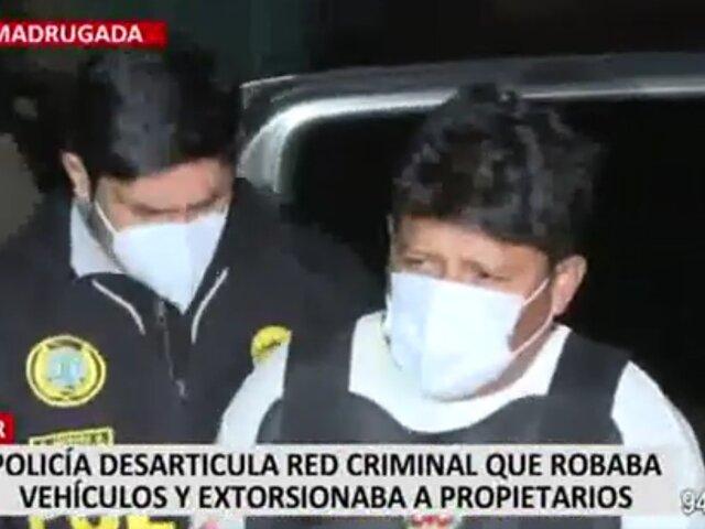 Comas: tras paciente seguimiento capturan a integrantes de la banda 'Los ligeros del sur'