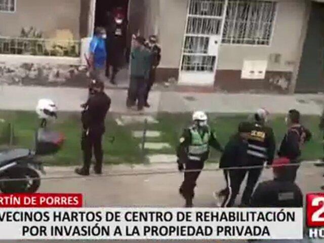 Vecinos de SMP aterrados por fugas e invasiones a casas de internos de centro de rehabilitación
