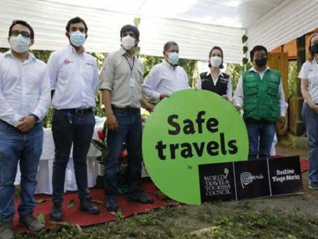 Tingo María recibe sello de seguridad internacional en turismo Safe Travels