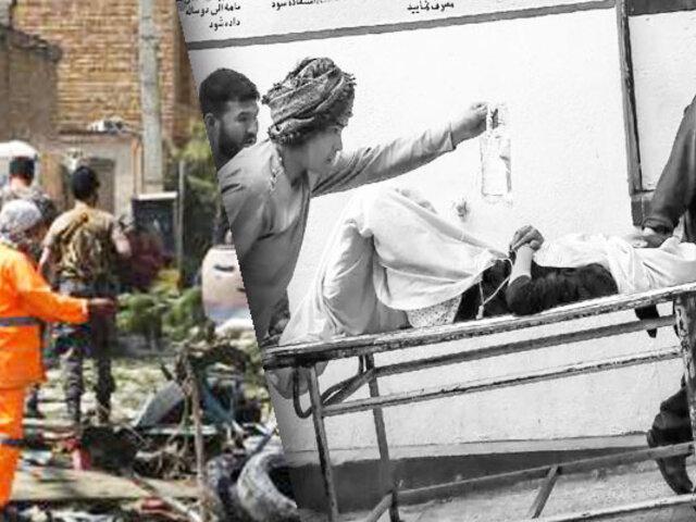 Afganistán: Atentado contra una escuela en Kabul deja casi 50 muertos