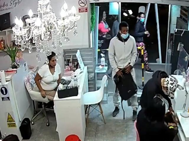 SMP: delincuentes roban Spa y hacen tocamientos indebidos a las clientes