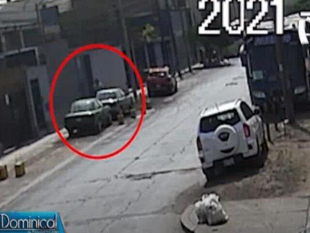 Ate: roban automóvil y extorsionan a su propietario
