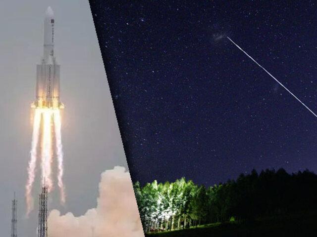Cohete chino perdido cayó sobre el Océano Índico sin provocar daños