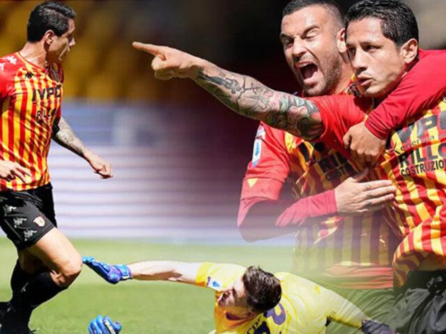Gianluca Lapadula anotó ante Cagliari por la Serie A de Italia