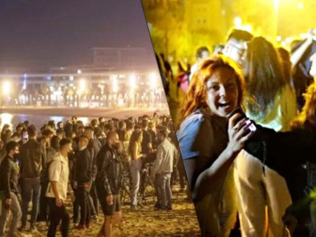 España: Miles celebran el fin del estado de alarma y toque de queda
