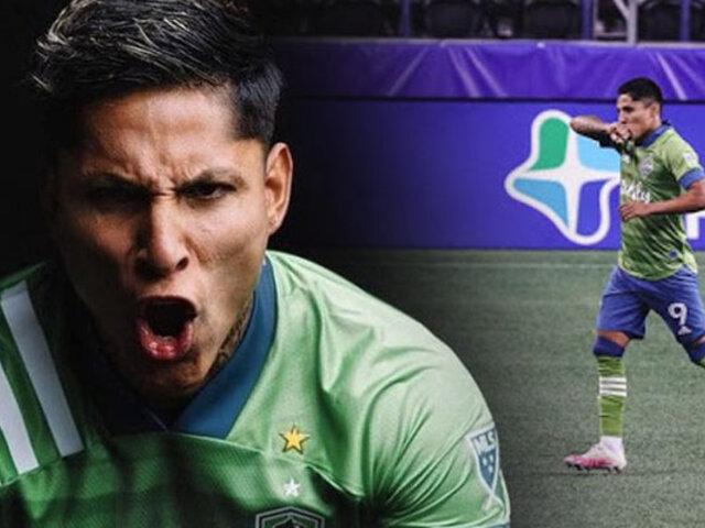 Raúl Ruidíaz sigue con buena racha en la MLS