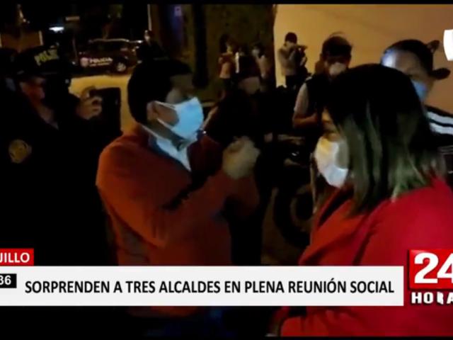 Trujillo: encuentran a tres alcaldes en restaurante en pleno toque de queda
