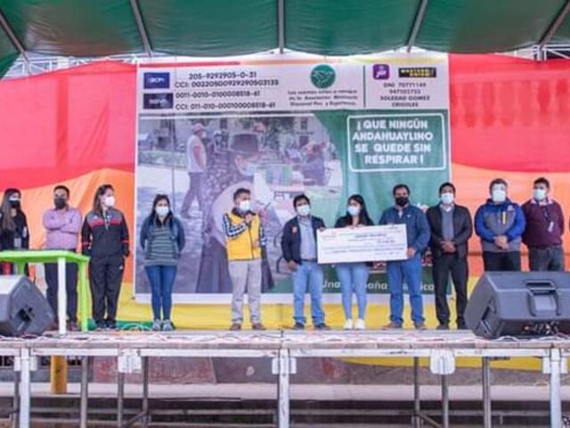 """Andahuaylas: campaña """"Unidos por la vida"""" recaudó más S/ 1 millón para adquirir planta de oxígeno"""