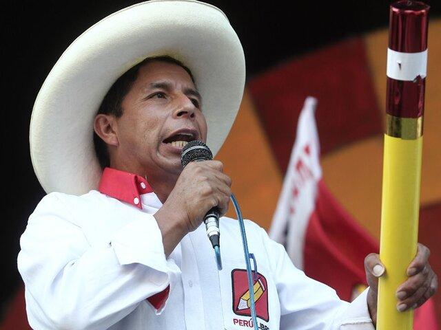 Segunda vuelta: Pedro Castillo rechaza participar de debate en penal de Santa Mónica
