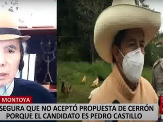 Científico confirma que Valdimir Cerrón lo invitó a ser parte del equipo técnico de Perú Libre